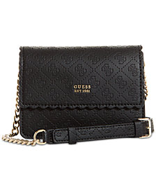 GUESS Rayna Flap Signature Crossbody
