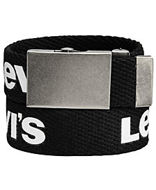 Levi's® Printed Belt, Big Boys