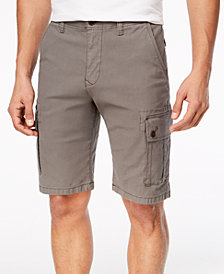 Lucky Brand Men's Stretch Sateen Cargo Shorts