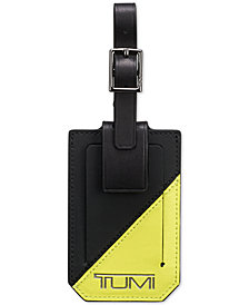 Tumi Men's Colorblocked Luggage Tag