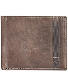Kenneth Cole Reaction Men's Danforth Slim Bifold Leather Wallet