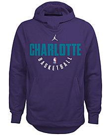 Nike Charlotte Hornets Elite Practice Hoodie, Big Boys (8-20)