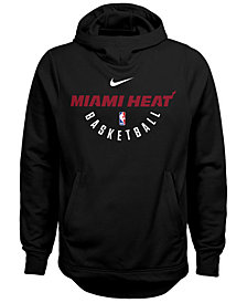 Nike Miami Heat Elite Practice Hoodie, Big Boys (8-20)