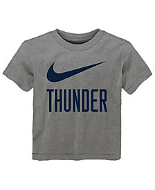 Nike Oklahoma City Thunder Swoosh Team T-Shirt, Toddler Boys (2T-4T)