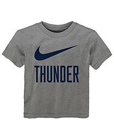 Nike Oklahoma City Thunder Swoosh Team T-Shirt, Toddler Boys (2T-4T)
