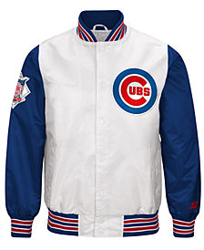 G-III Men's Sports Chicago Cubs The Legend Starter Jacket
