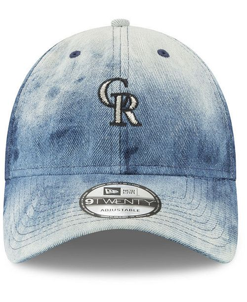 timeless design c9cbf 8dbf1 ... get new era colorado rockies denim wash out 9twenty cap sports fan shop  by lids men