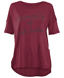 Royce Apparel Inc Women's South Carolina Gamecocks Riley Script Modal Crew T-Shirt