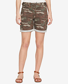 WILLIAM RAST Cotton Camo Cargo Shorts