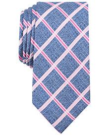 Nautica Men's Rohan Grid Slim Silk Tie