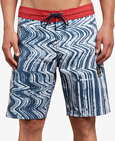 "Volcom Men's Lo Fi Stoney Stretch 19"" Board Shorts"
