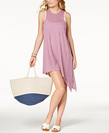 Becca Breezy Basics Asymmetrical-Hem Cover-Up Dress