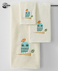 Creative Bath Towels, Give a Hoot Collection