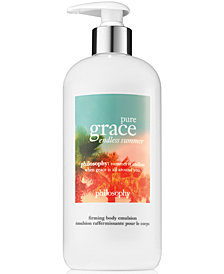 philosophy Pure Grace Endless Summer Firming Body Emulsion, 16-oz.
