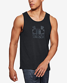 Under Armour Men's Charged Cotton® Logo Tank Top