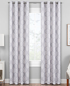 "Hudson Hill Antina 50"" x 63"" Grommet Window Panel"