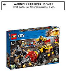 LEGO® City Mining Heavy Driller 60186