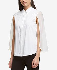DKNY Cape Shirt