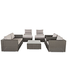 Westfield Outdoor 9-Pc. Sofa Set, Quick Ship