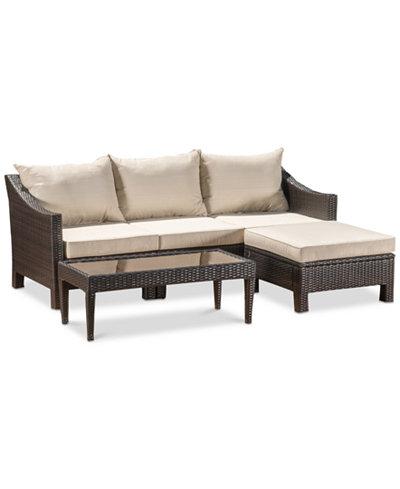 Andreas Outdoor 5-Pc. Sofa Set, Quick Ship