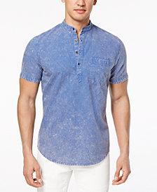 I.N.C. Men's Denim Popover Shirt, Created for Macy's