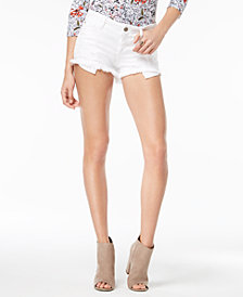 GUESS Ripped Denim Shorts