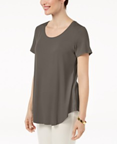 b9b859092ed JM Collection Scoop-Neck Top, Created for Macy's