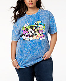 Disney Plus Size Cotton Disney Beach Buddies T-Shirt