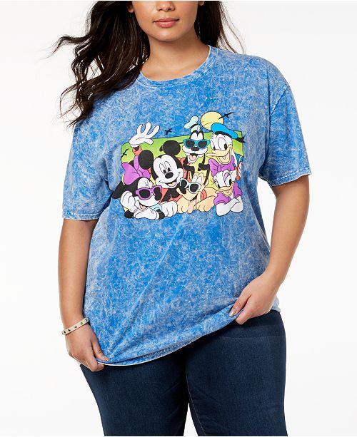 Disney Plus Size Cotton Disney Beach Buddies T-Shirt