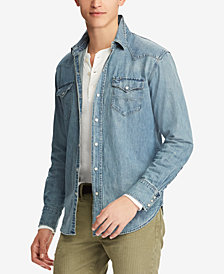 Polo Ralph Lauren Men's Classic Fit Denim Shirt