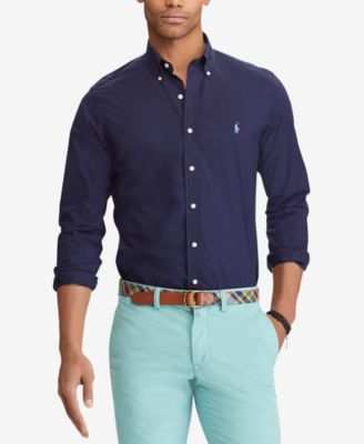 Men's Classic Fit  Stretch Poplin Shirt