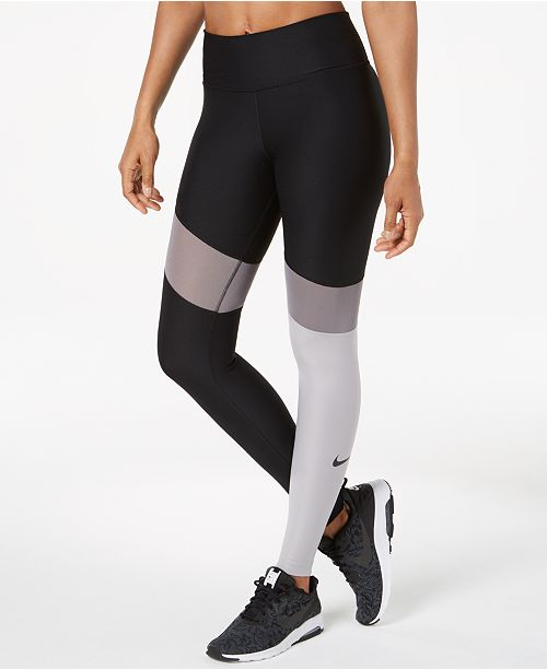 5f2e5b70b1e665 Nike Power Colorblocked Workout Leggings; Nike Power Colorblocked Workout  Leggings ...