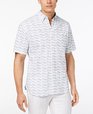 Tommy Bahama Men's Chevron Shores Shirt