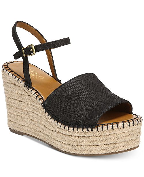 e2a159d7cf7f Franco Sarto Tula Platform Espadrille Wedge Sandals   Reviews ...