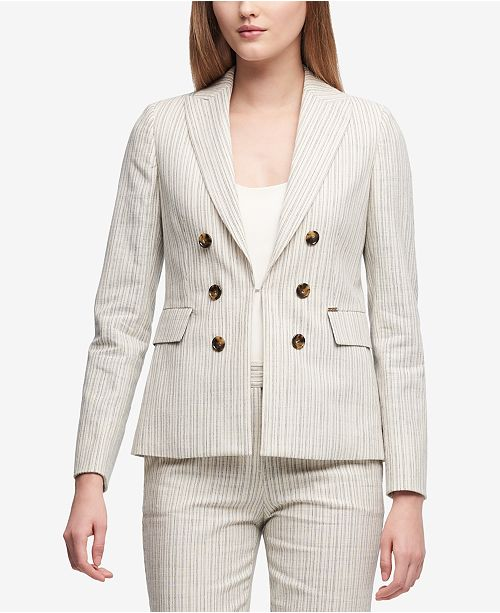 DKNY Double-Breasted Blazer, Created for Macy's