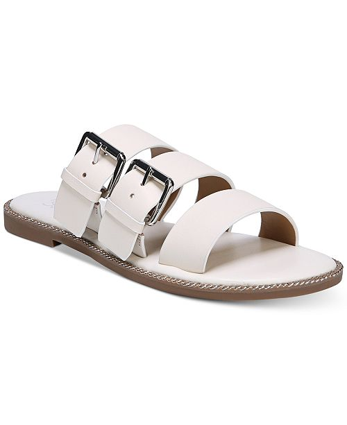 93c0e928faba Franco Sarto Kasa Strappy Slip-On Flat Sandals   Reviews - Sandals ...