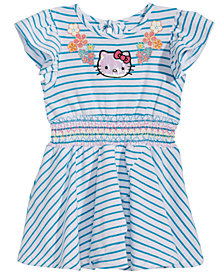 Hello Kitty Baby Girls Striped Dress