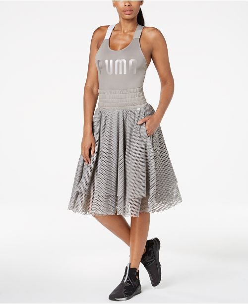 1fa93c4d9f1b Puma En Pointe Bodysuit & Mesh Skirt & Reviews - Women's Brands ...