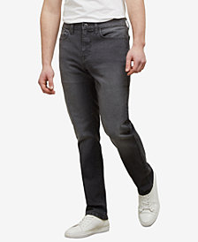 Kenneth Cole Men's Straight-Fit Stretch Jeans