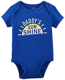 Carter's Daddy's Sunshine Graphic-Print Cotton Bodysuit, Baby Girls
