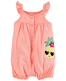 Carter's Baby Girls Pineapple Romper