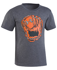 Under Armour Catcher-Print T-Shirt, Little Boys
