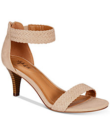 Style & Co Pattyy Braided Two-Piece Dress Sandals, Created for Macy's