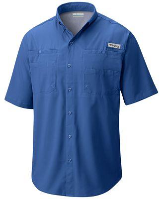 Columbia Men's Tamiami Classic-Fit Performance Pocket Shirt