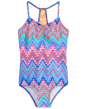 Summer Crush 1-Pc. Crochet-Back...