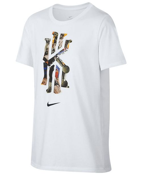 230bd2cd Nike Kyrie Irving Graphic-Print T-Shirt, Big Boys & Reviews - Shirts ...