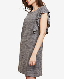 Motherhood Maternity Ruffled Nursing Dress