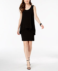Alfani Petite Popover Shift Dress, Created for Macy's