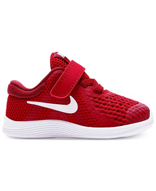 half off 1a16c 2821f ... Nike Toddler Boys  Revolution 4 Athletic Sneakers from Finish ...