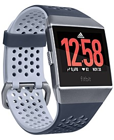Ionic Adidas Edition Ink Blue & Ice Gray Touchscreen Smart Watch 35mm